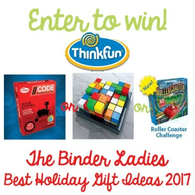 Giveaway! Enter to Win Choice of Game from Think Fun Games!