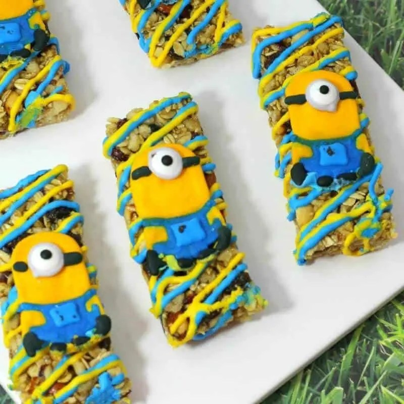 Minion Granola Bars