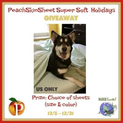 PeachSkinSheet Super Soft Holiday Giveaway