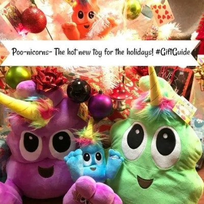 Poo-nicorns- The hot new toy for the holidays! #GiftGuide
