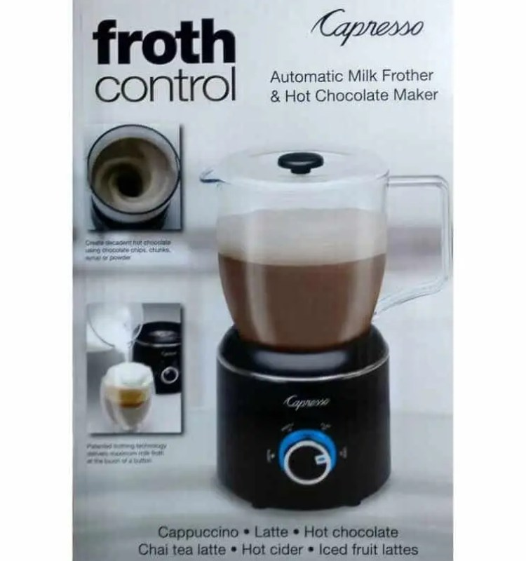 froth Control Makes it Simple to Create Cafe-Inspired Beverages