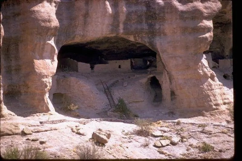 Ancient Cliff Dwellings in New Mexico