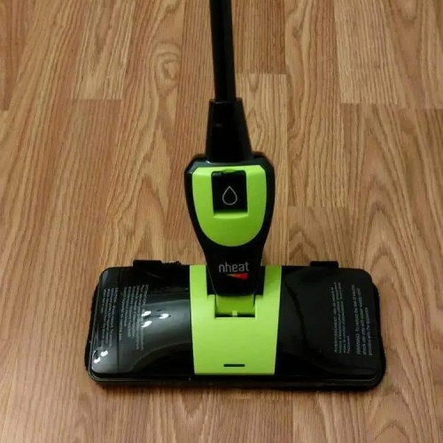 The Nheat MC2X5 Mop Cleans and Sanitizes Using the Power of Heat