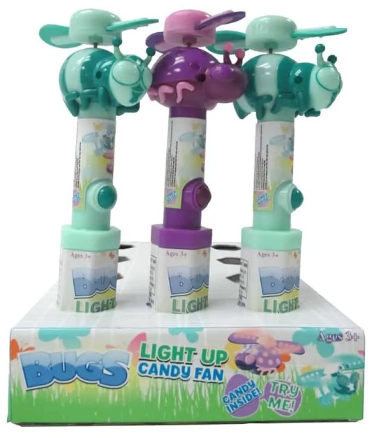 CandyRific Light Up Bug Fans new style