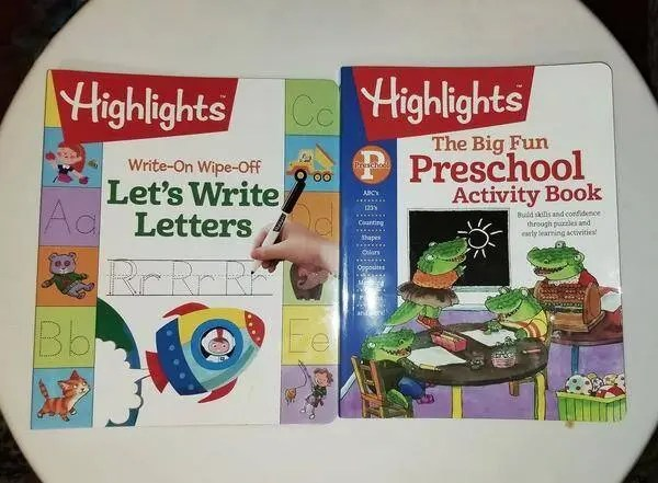 Highlights Activity Books Help Make Learning Fun
