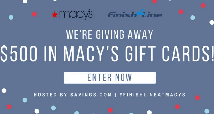 Enter for a Chance to Win a Macy's Gift Card Giveaway