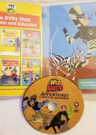 PBS Kids Wild Kratts: Adventures on the African Savannah DVD Review