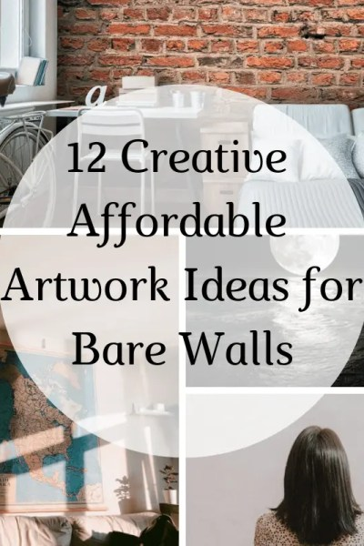 12 Creative Affordable Artwork Ideas for Bare Walls