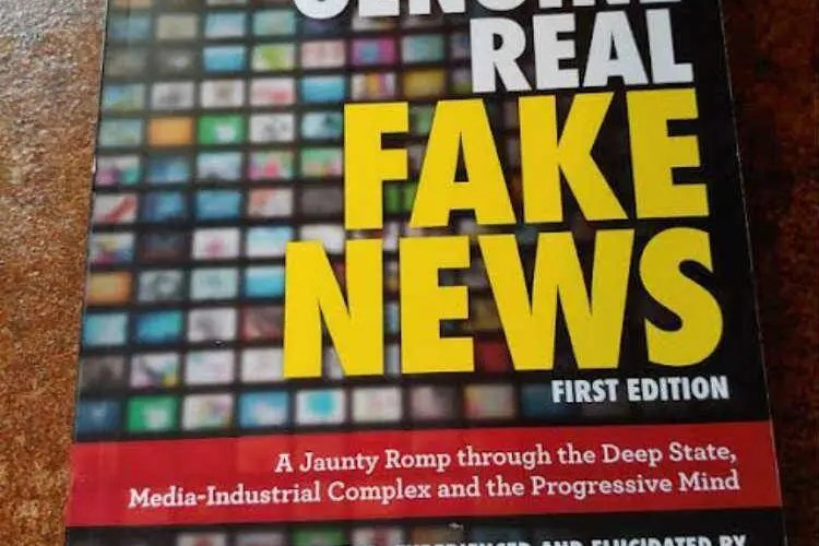 Absolutely Positively Genuine Real Fake News #Gift Guide