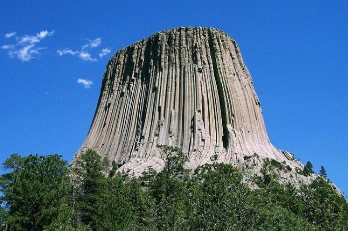 Mountains Located in Devil's Tower, Wyoming