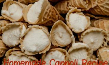 Holiday Recipe – Homemade Cannoli Recipe