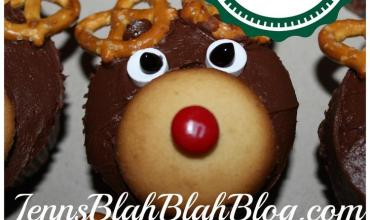 Fun Cupcake Ideas For Christmas: How to make Reindeer Cupcakes
