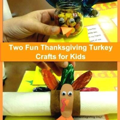 2 Fun #Thanksgiving Turkey Craft for Kids!