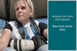 Selfie auf dem CHIO Aachen