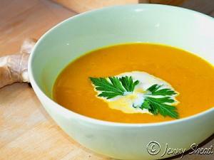 Fruchtige Süßkartoffel-Suppe