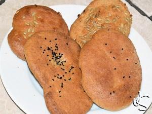 Indisches Naan-Brot