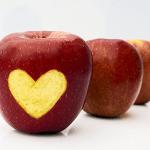 Ich liebe Äpfel!