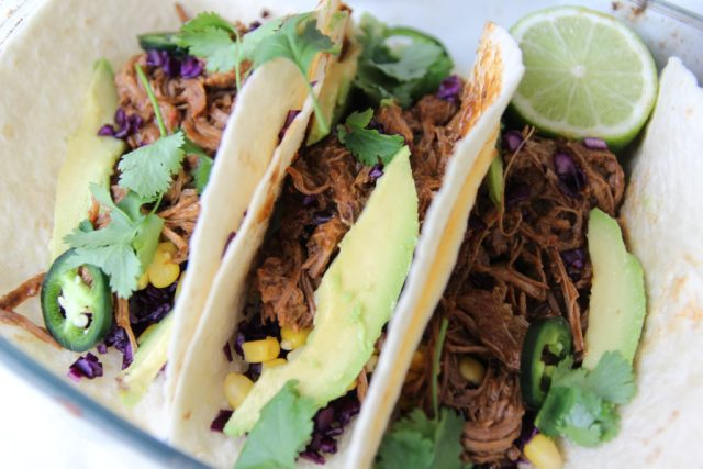 Pulled Beef Taco's