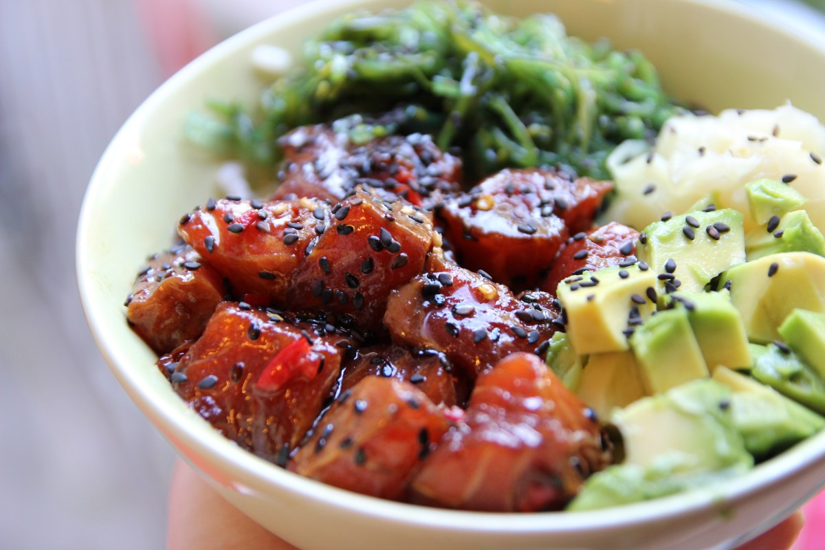 Recept poke bowl