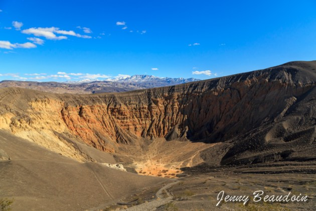 Crater in Death Valley National Park