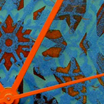 Jenny Gore Enamel Clock Series