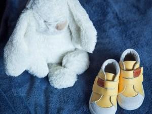 Första gå-skorna