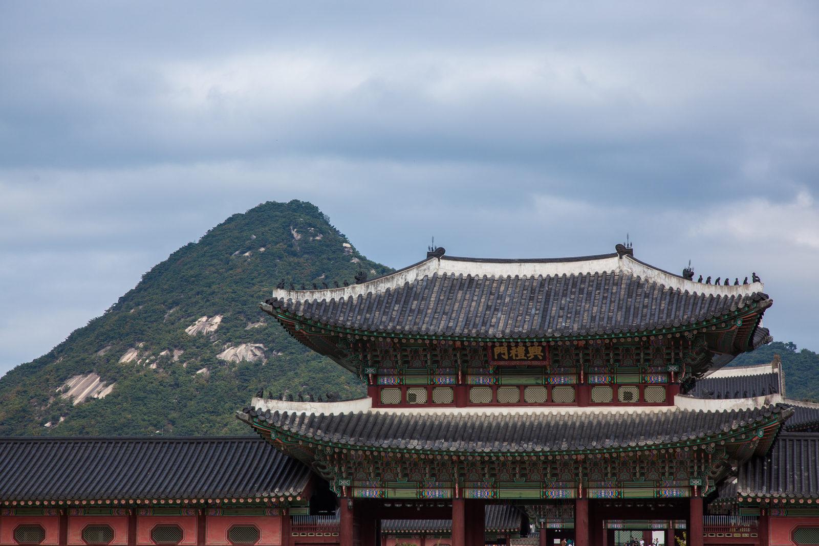 palatset Gyengbokgung