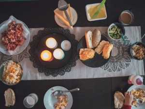 Söndagsfrukost hemma