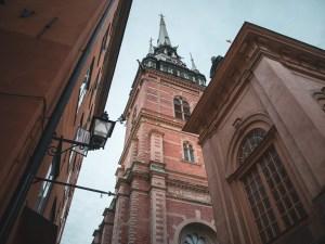 tre dagar i Stockholm