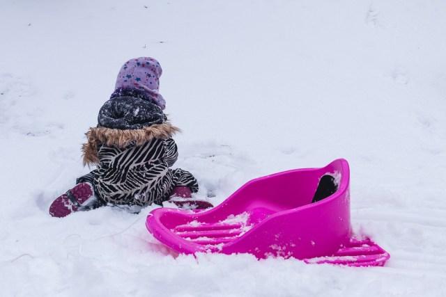 Snöig helg i Göteborg