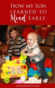 How My Son Learned to Read Early