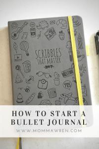 Momma Wren | How to Start a Bullet Journal