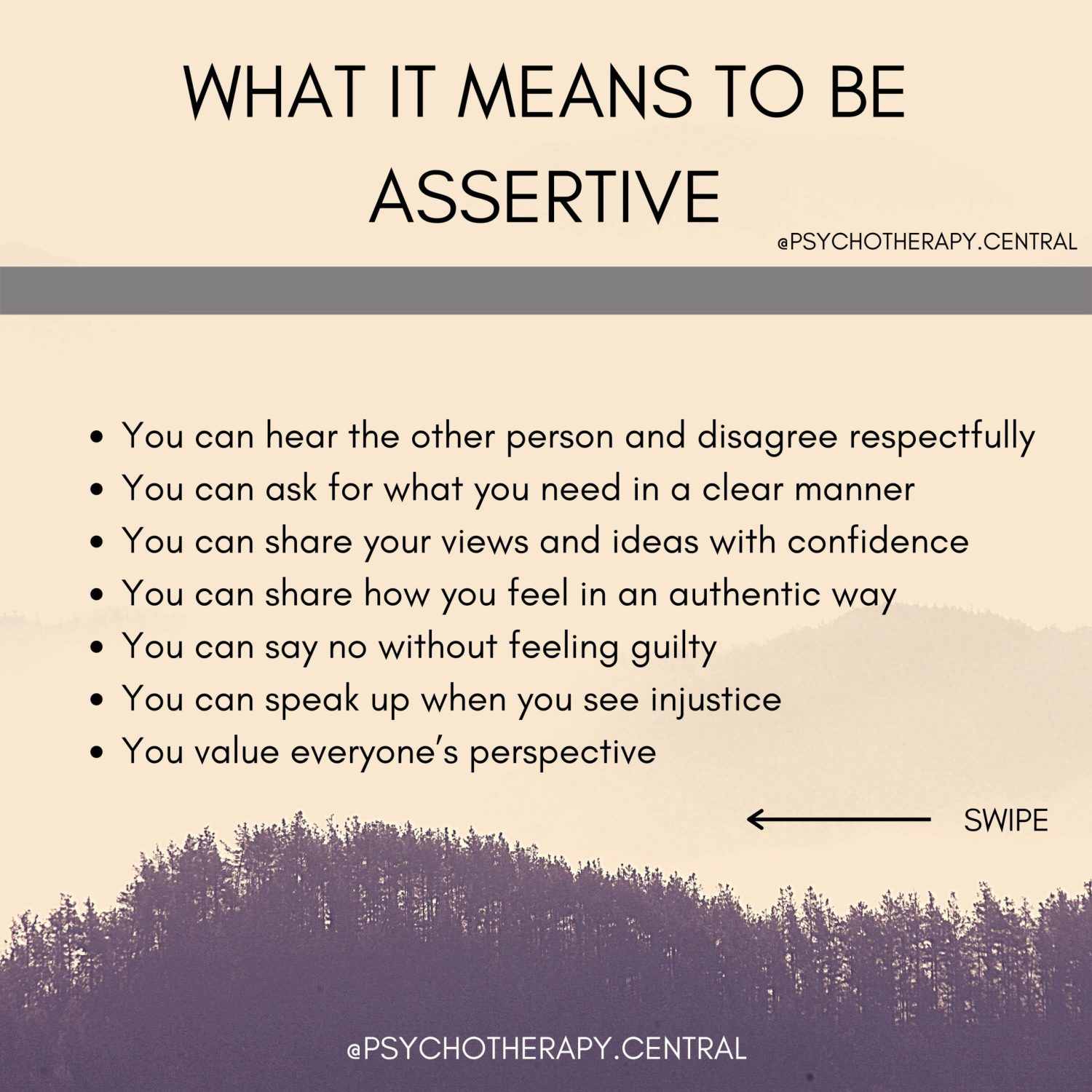 what it means to be assertive