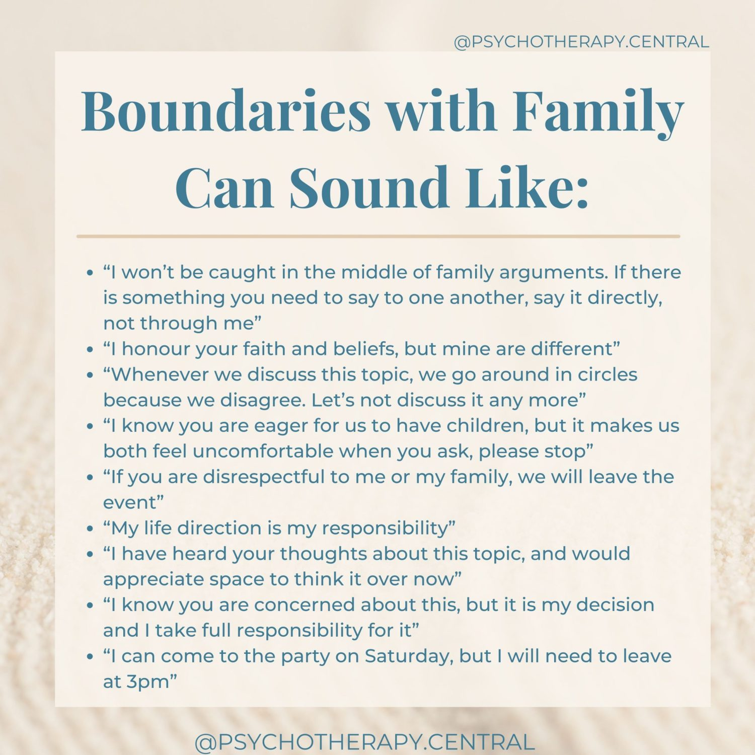 Boundaries with Family Can Sound Like