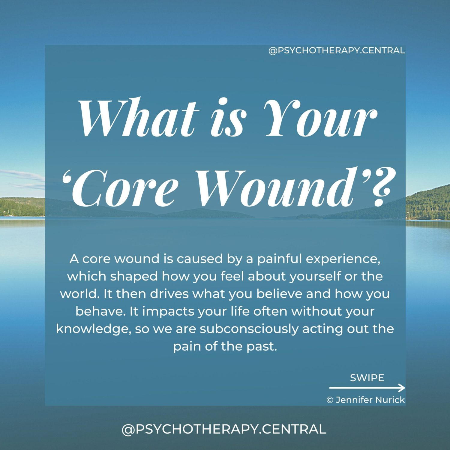what is your core wound?