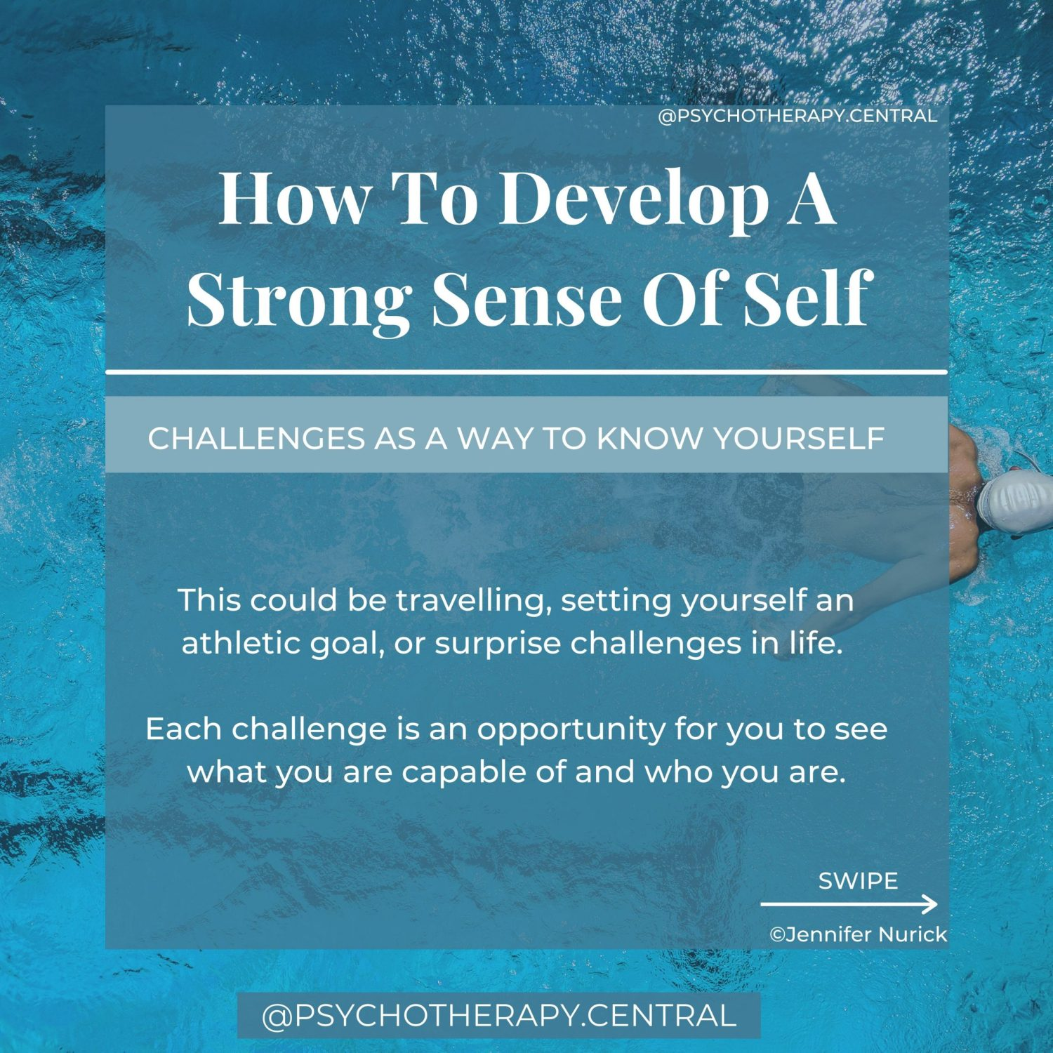 challenges as a way to know self