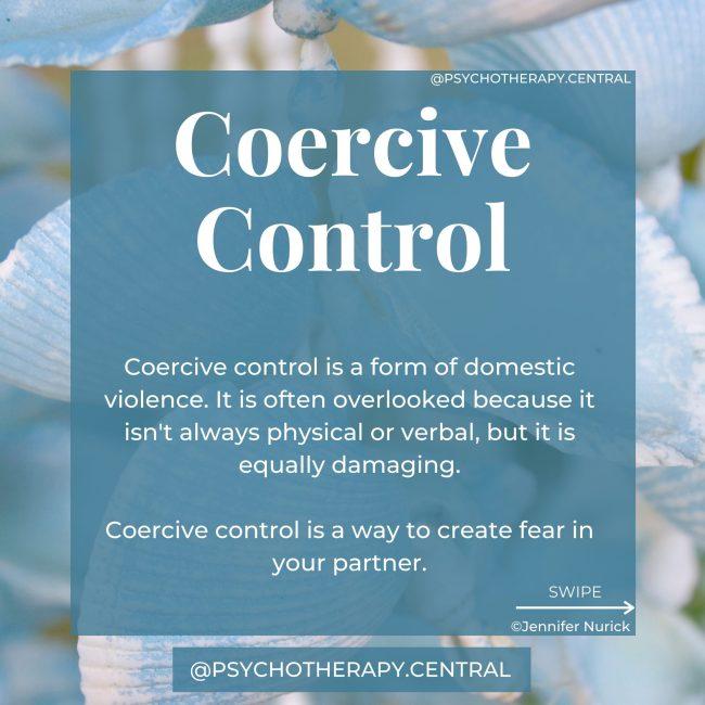 Coercive Control