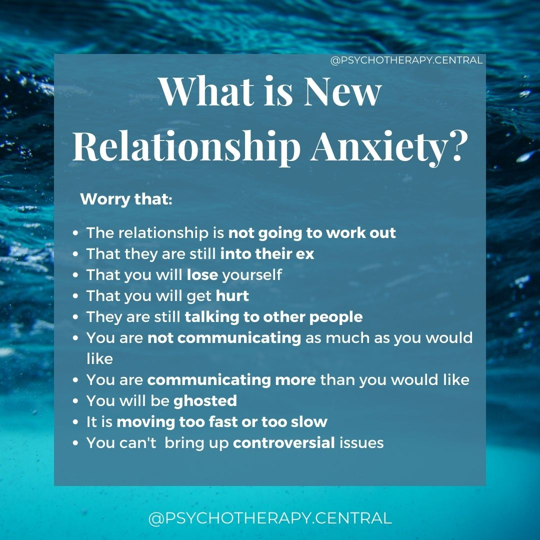 """What is """"New Relationship Anxiety""""?"""