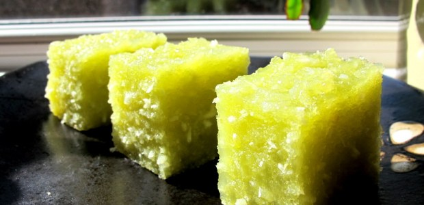 香兰椰丝西米木薯糕 Steam Pandan Sago Casava Kuih