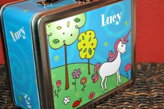 Personalized lunch box from Stationary Market