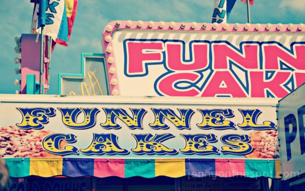 Funnel cake, yes!