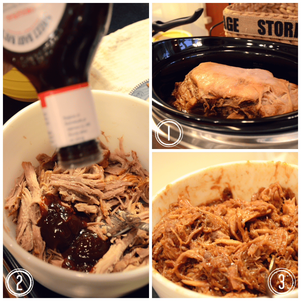 BBQ sauce and pulled pork via @jennyonthespot