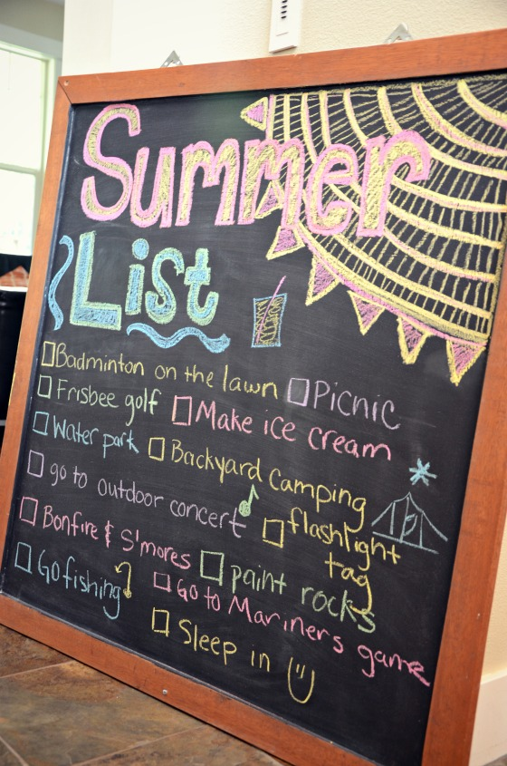 Making Summer Fun: Summer List