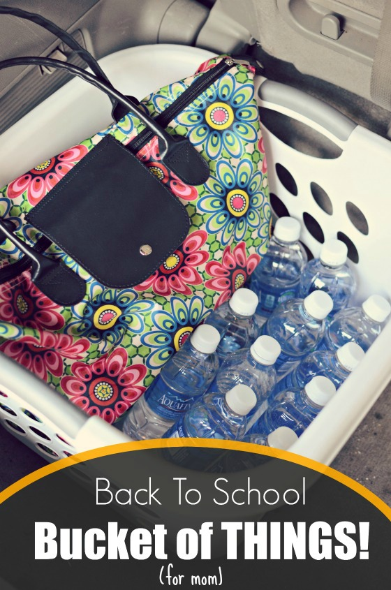 Back to school success tip: A place for everything and everything in its place... even if it eventually moves from its place.