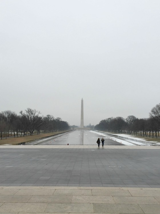 Washington National Monument and reflecting pool