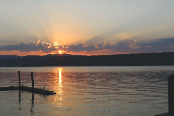 vacation on Lake Coeur d'Alene