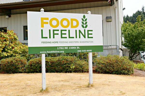 Food Lifeline in Seattle, a Feeding America Food Bank