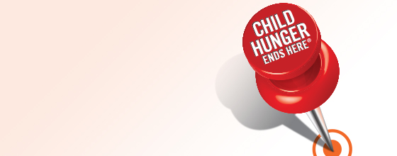 child hunger ends here pin