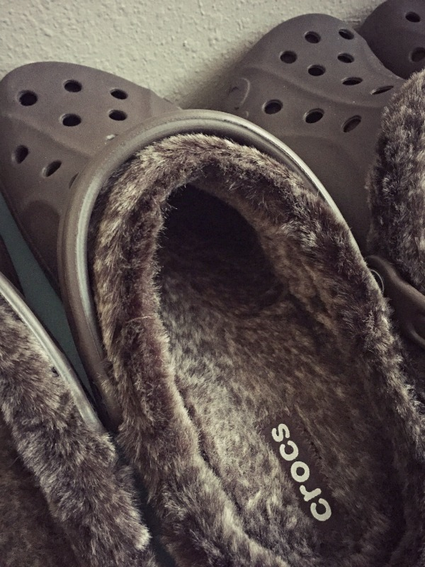 Baya Heathered Lined Clogs #DiscoverCrocs
