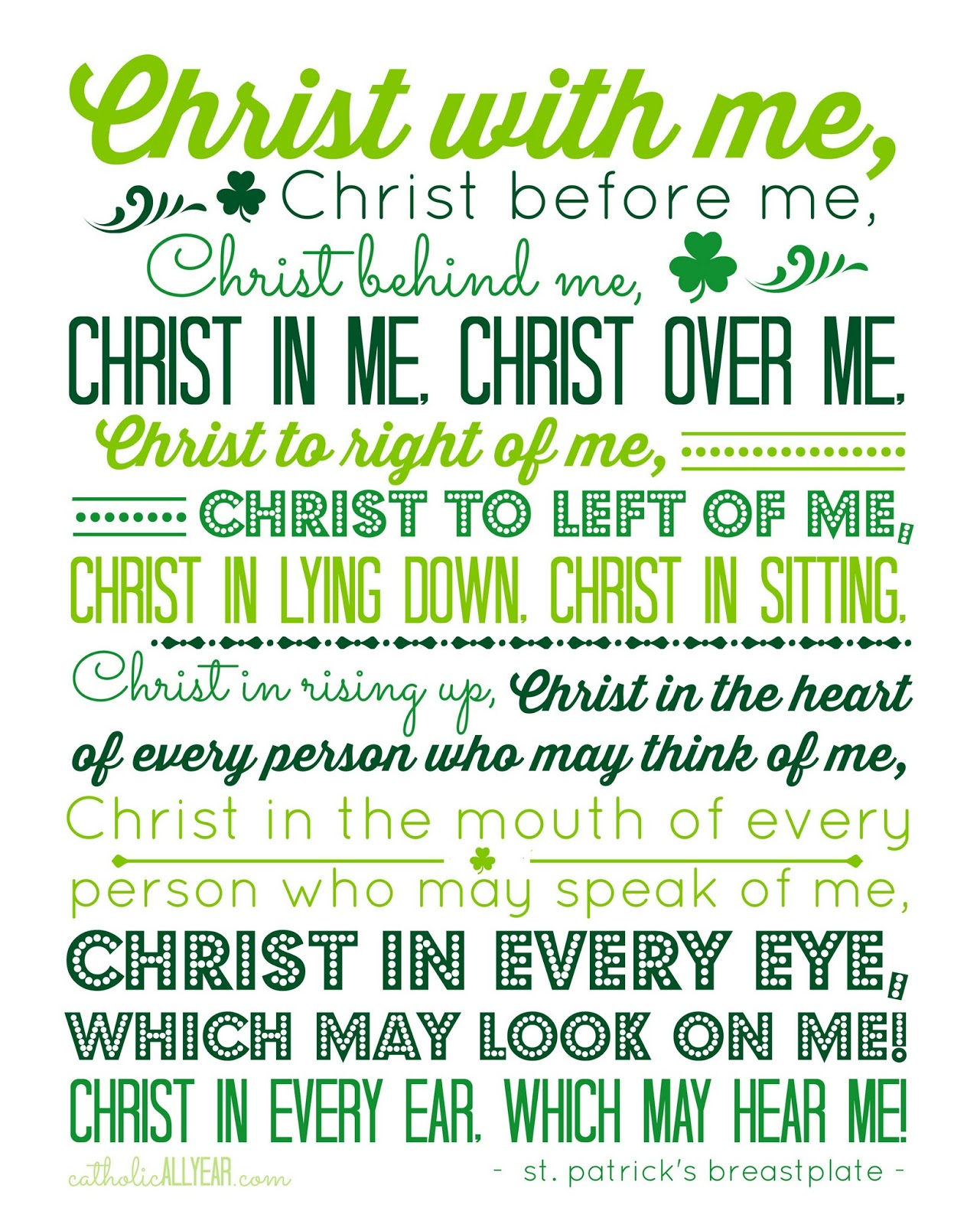 A Prayer For St Patrick S Day